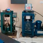 Manutenção em prensas para ensaio